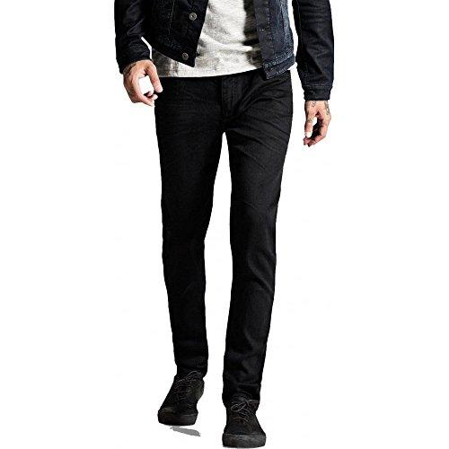 Jack & Jones Men's Slim Fit Tim Original 298 Jeans, Black, 30W x 32L