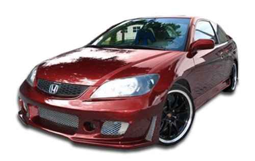 Kit 2dr B2 Body (2004-2005 Honda Civic 2DR Duraflex B-2 Body Kit - 4 Piece)