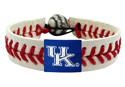 NCAA Kentucky Wildcats Classic Baseball Bracelet - Gamewear Sports Bracelet