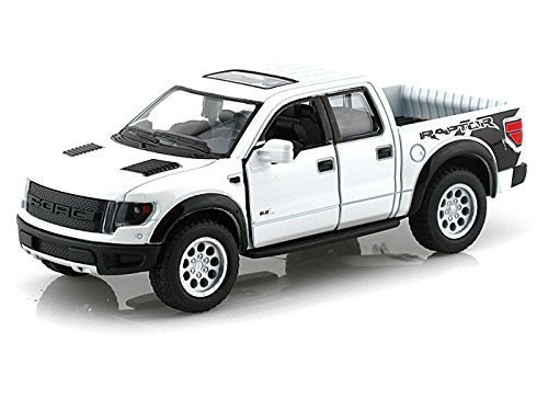 Svt Ford F150 Collectibles (2013 Ford F-150 SVT Raptor Supercrew 1/46 White by Collectable Diecast)