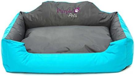 Cama para Perro, Cama para Gato, Cama de Mascota, Suave Sofá Cesta, resistente al agua, Fácil limpieza! Purple-Pets (Grande, Azul): Amazon.es: Electrónica