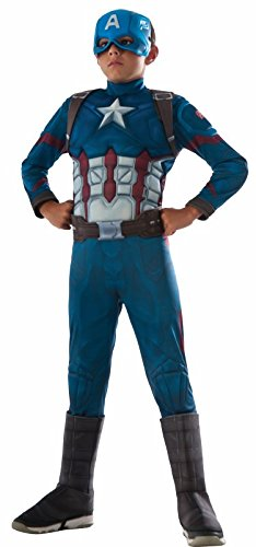 Rubie's Costume Captain America: Civil War Deluxe Captain America Costume, Small ()