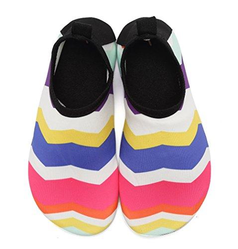 buy popular 5ff70 35a2e ... Cior Menn Kvinner Og Barn Vann Sko Barfot Hud Sko Anti-slip For  Strandbasseng Surfe ...