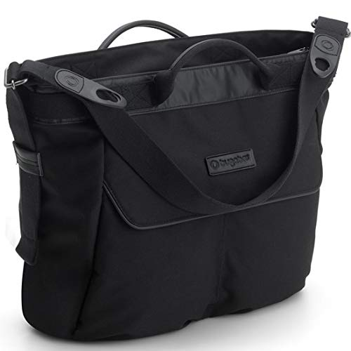 Bugaboo Bugaboo Changing Bag - Black - Convenient and Stylish Diaper Bag to Carry All of Your Essentials - Easily attaches to Bee5, Cameleon3, Fox and Buffalo Strollers, Black