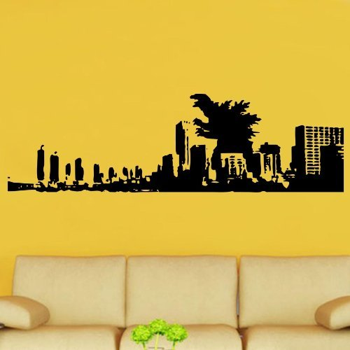 godzilla wall decal - 2
