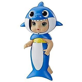 Baby Alive- Baby Shark Brunette, Multicolour (Hasbro E8595FF1)