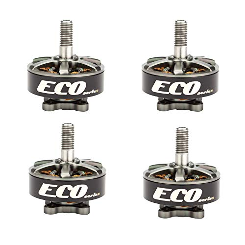 Crazepony 4pcs Emax ECO2306 1700KV 3-6S Brushless Motor for RC Drone FPV Racing