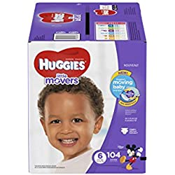 HUGGIES Little Movers Diapers, Mickey Mouse