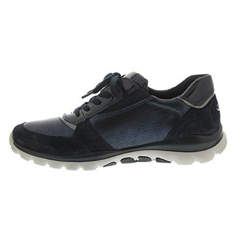 Cordones 76963 Zapatos nightblue River Gabor De Para 66 Mujer UIvxPnq1
