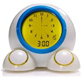 Onaroo Teach Me Time Talking Alarm Clock and Nightlight