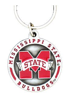 College Team Logo Key Ring - Mississippi State Bulldogs College Teams Merchandise