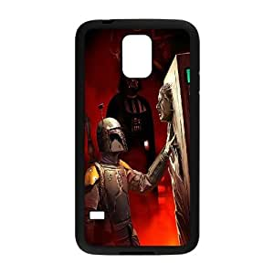[Tony-Wilson Phone Case] For Samsung Galaxy S5 -IKAI0445973-Star Wars Movies Series Pattern
