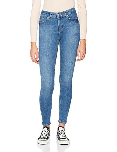 Jean Denim Bleu Femme Denim Blue Skinny Medium Pieces Medium Blue 16nvvxq