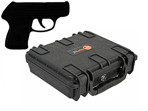 Elephant Concealed Carry Small/Mini Handgun Hard Case E090 for any Small pocket gun under 6