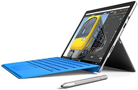 Microsoft Surface Pro 4 SU3-00001 12.3-Inch Laptop (2.2 GHz Core M Family, 4GB RAM, 128 GB flash_memory_solid_state, Windows 10 Pro), Silver