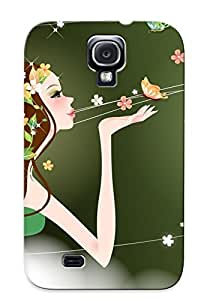 Eatcooment Scratch-free Phone Case For Galaxy S4- Retail Packaging - Mother Nature