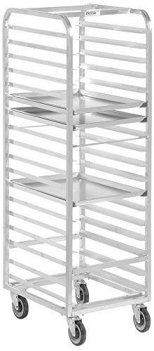 (Channel Manufacturing 403A-OR Front Load Aluminum Bun Pan Oven Rack - 12 Pan )