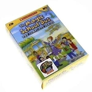 The Magic School Bus: The Complete Series -8 DVD Box Set Kit