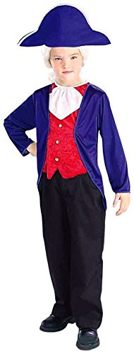 [Forum Novelties George Washington Child's Costume, Large] (8 People Costumes)