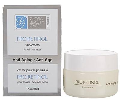 Global Beauty Care Pro Retinal Skin Cream Anti-Aging 1.7-Ounce