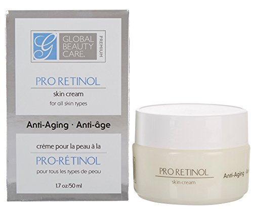 Global beauty care pro retinol skin cream all kin types new
