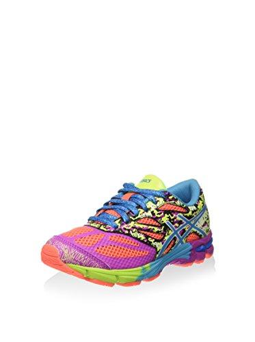 Asics Gel-noosa Tri 10 Gs - Zapatillas de running Unisex Niños Coral / Turquesa / Rosa