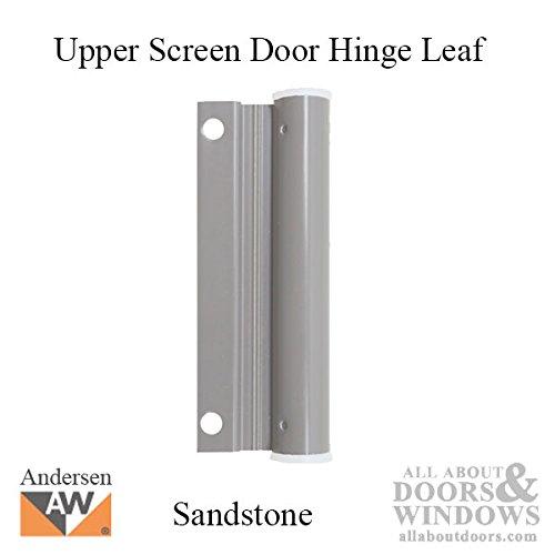 Upper Screen Door Hinge Leaf - sandtone