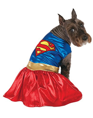 DC Comics Pet Costume, X-Large, Supergirl]()