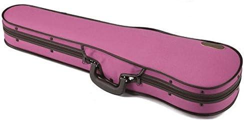 バイオリンケース 4/4サイズ用 東洋楽器 ULシェルR ダークピンク