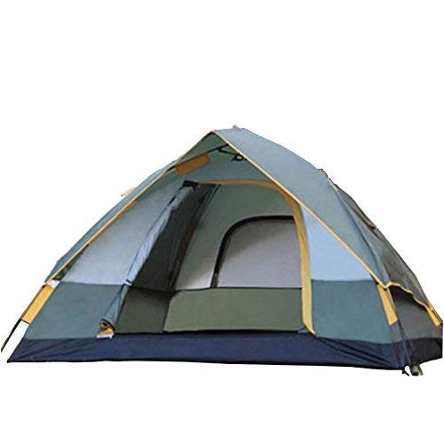 JIE Guo Outdoor Produkte Outdoor 2 Personen Camping Automatische Zelte, Polyester Wasserdicht Atmungsaktiv, Geeignet für Camping, Tourismus, Freizeit Abendessen, Tragbare Zelte