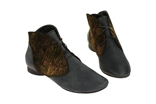 Pensare Guad Uk Scuro Deserto Donne Blu 5 Stivali Black Dark 5 Desert Women's Blue Think Guad Neri Uk Delle Boots PqwHdPRn