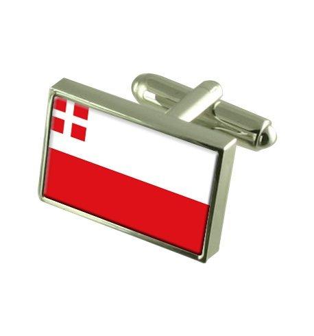 Utrecht Boutons de manchette drapeau avec select pochette cadeaux