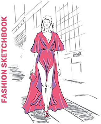 Fashion Sketchbook Easy To Draw Clothes Designs On Female Fashion Figure Template Like A Designer For Beginners Sketchbook Fashion Design 9781671207622 Amazon Com Books