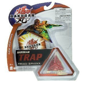 Bakugan Trap Triad Sphinx Red (Pyrus)