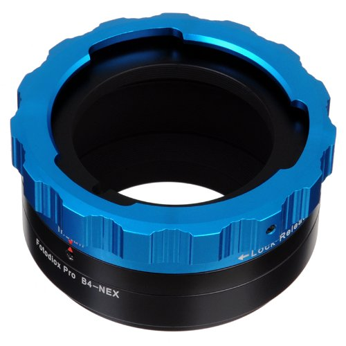 Fotodiox Pro Lens Mount Adapter - B4 (2/3'') ENG Cine Lens to Sony Alpha E-Mount Mirrorless Camera Body