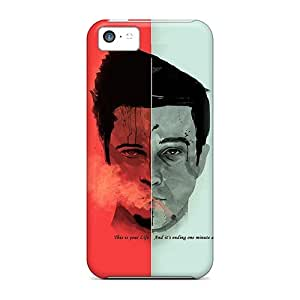 Fashion Protective Fight Club Tyler Durden Cases Covers For Iphone 5c