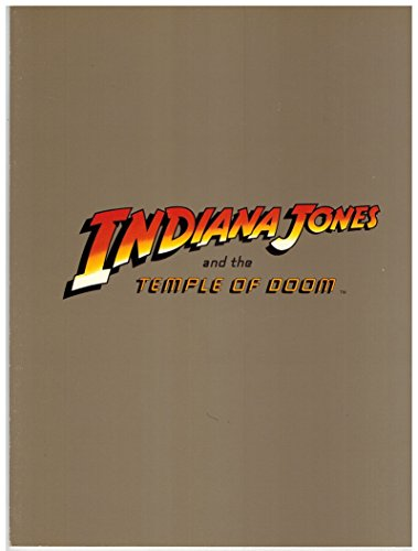 Indiana Jones and the Temple of Doom Movie Credits Sheet