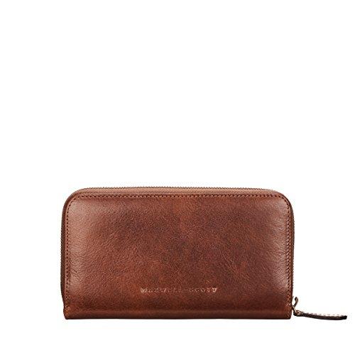 Handcrafted Classic scott Design Zip Sophisticated British Purse the Giorgia Tan Italian Great Maxwell Around Leather OTqnagXa