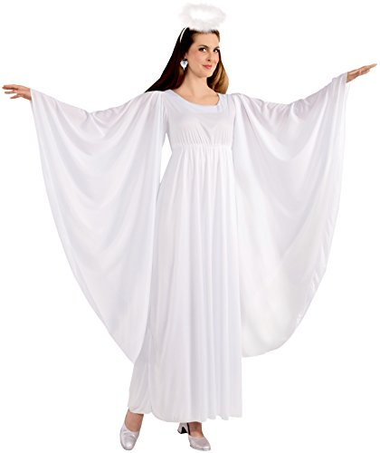 Forum Novelties Women's Angel Costume, White, One Size ()