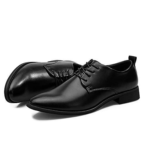di Stringate Basse 2018 Dimensione morbida Color pelle 42 Scarpe a da shoes classiche Oxford Xujw EU lavoro Nero in punta lavorata uomo Nero da Scarpe PIxq5pwt
