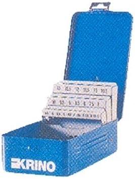 Caja brocas helicoidal metal PZ.19 vacía Krino [Krino]: Amazon.es ...