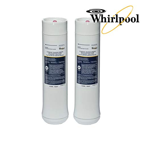 (Whirlpool WHEERF Reverse Osmosis Replacement Pre/Post Water Filters (Fits Systems WHAROS5, WHAPSRO & WHER25))