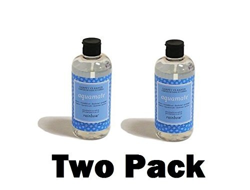 Genuine Rainbow AquaMate Carpet Shampoo, 16 oz. (Two Pack)