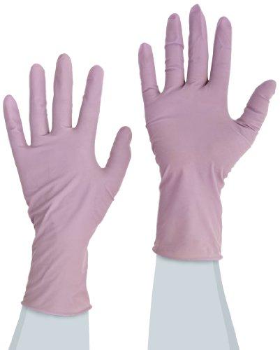 MAPA TRIlites 994 Tri-Polymer Glove, Disposable, 0.006'' Thickness, 10'' Length, Medium, Purple (Box of 100) by MAPA Professional (Image #1)