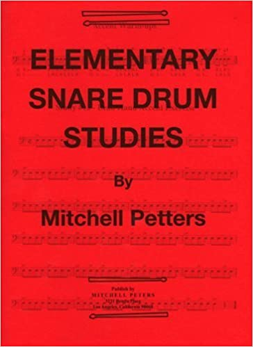 Book TRY1063 - Elementary Snare Drum Studies by Mitchell Peters (1988-01-01)