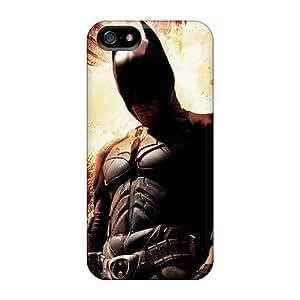 LPkthhX-8740 TmallCase Christian Bale Dark Knight Rises Durable Iphone 5/5s Tpu Flexible Soft Case
