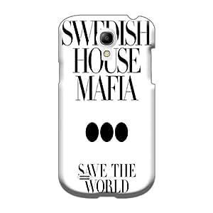 Durable Hard Cell-phone Cases For Samsung Galaxy S4 Mini (TkT5851EdQS) Custom Lifelike Swedish House Mafia3 Image