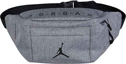 (Jordan Air Crossbody Bag (Carbon Heather) )