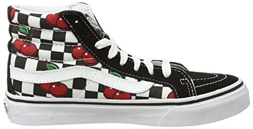 Checker Vans Multicolour hi White True Sneakers Cherry Adults' Checkers Sk8 Unisex Hi Top Epwpn6Fqfr