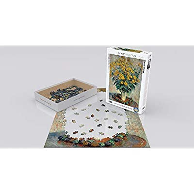 EuroGraphics Jerusalem Artichoke by Claude Monet 1000 Piece Puzzle: Toys & Games